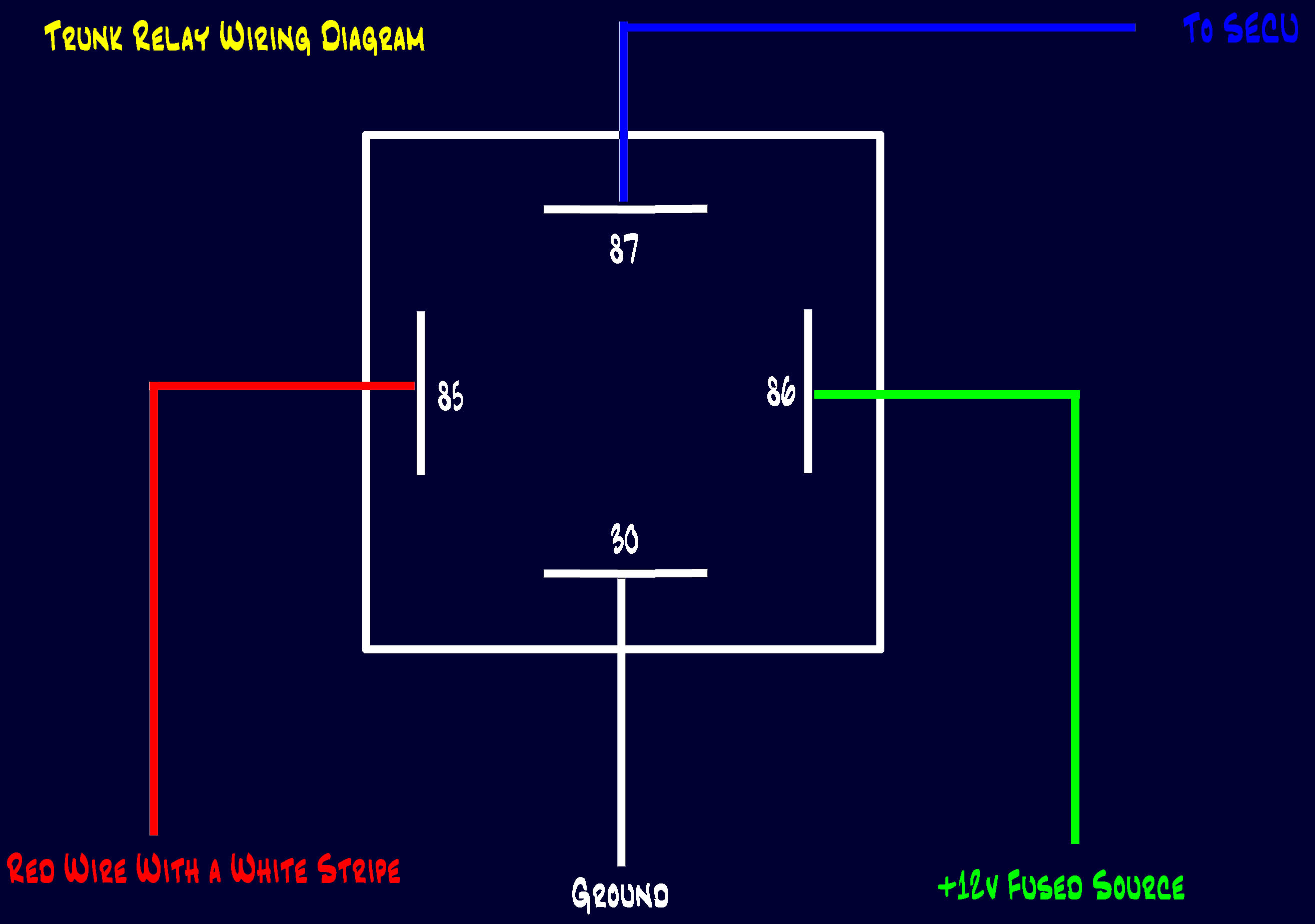 Testing A A Relay Wiring Diagram Merzienet - How to test 12v 5 pin relay